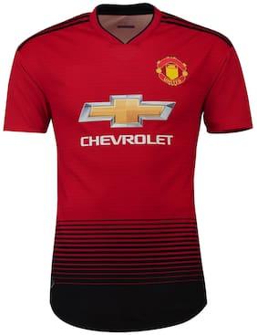 168114656 Marex Manchester United Home Football Jersey With Lukaku Written at Back