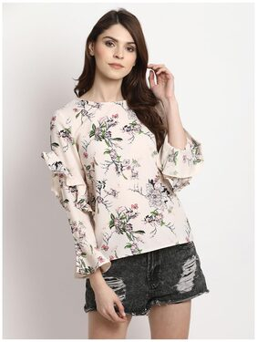 Marie Claire Women Pink Printed Top