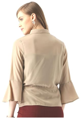 Shirt Claire Shirt Beige Marie Solid Solid Marie Beige Marie Claire Beige Claire Solid Z6dZa
