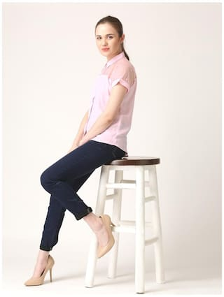 Claire Marie Solid Shirt Marie Claire Pink Pink pHFqzwnOx