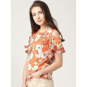Marie Claire Multicolor Printed Top
