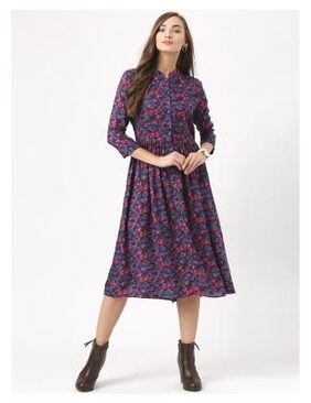 Marie Claire Multicolor Printed Dress