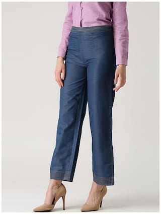 Claire Solid Marie Trousers Solid Claire Blue Marie Blue Claire Blue Marie Trousers Solid pYqgwxBTzA