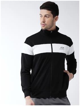 Masch Sports Men Polyester Jacket - Black & White