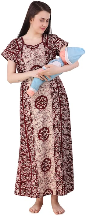 Women Printed Maternity Wear