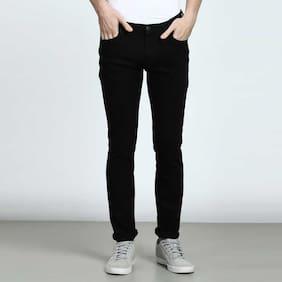 Masterly Weft Men Black Slim Fit Jeans
