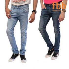 Matrix Slim Fit Men's Pack Of 2 Jeans