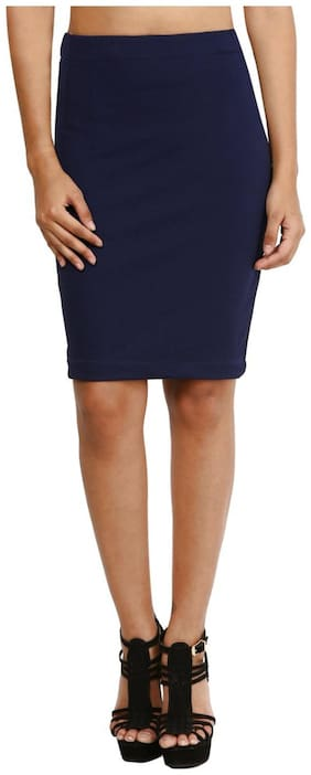 Mayra Blue Skirt