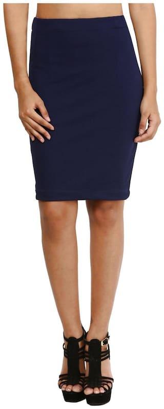Mayra Blue Skirt