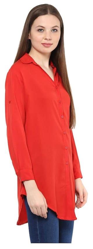 Mayra Shirt Long Crepe Women's Crepe Long Women's Mayra Women's Crepe Shirt Long Mayra Shirt Mayra wAwx6qrBF