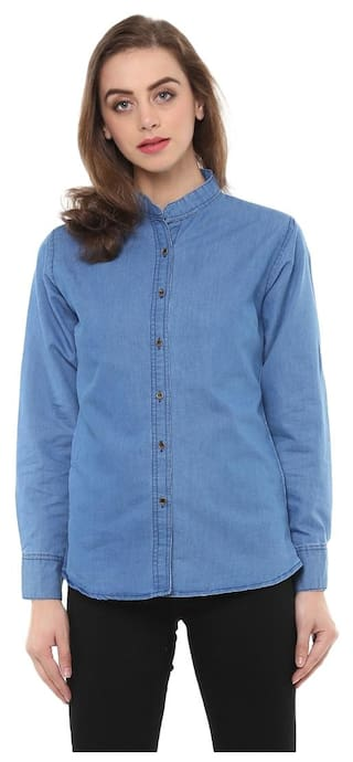 bb0a1b5e52c6 Buy Mayra Women's Party Wear Shirt Online at Low Prices in India ...