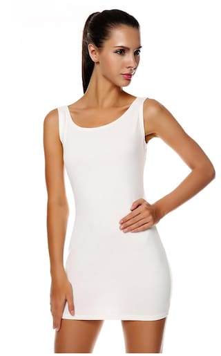 Package O Neck Women Mini Sleeveless Bodycon Slim Meaneor Dress Tank Hip Fashion UCSXqnxwA