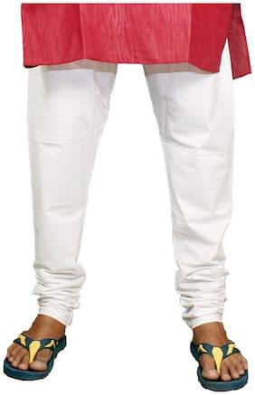 Mehta Apparels Men Cotton Pyjama - White