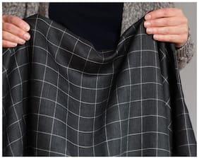 men black check suit length 3 m
