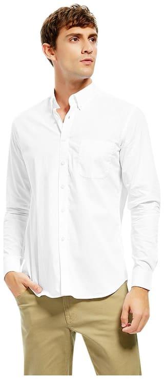 Men Cotton Collar Dress Shirt