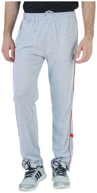 HUMBERT Men Poly cotton Track Pants - Blue