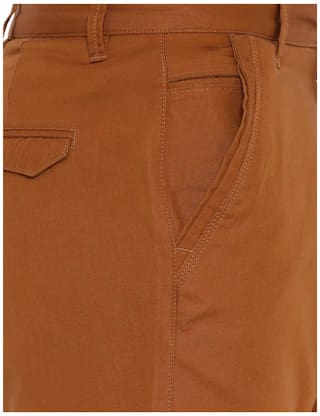 Balista Solid s Men Brown Shorts 5MwYGV