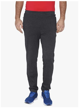 16d4e71a32a3 Buy Puma Men Cotton Track Pants - Grey Online at Low Prices in India ...