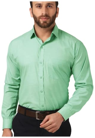 Mesh Men Slim Fit Formal Shirt (To the best look), cheapest formal shirt