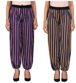Mgrandbear Stylish and comfort adorable harem pant for women Pack of 2
