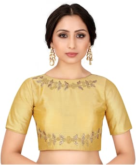 Women Embroidered Blouse Pack of 1