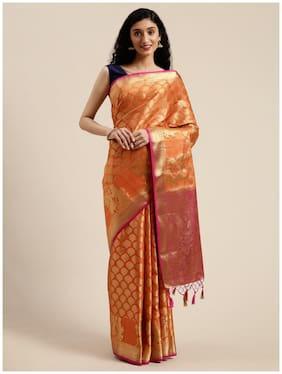 Artificial Silk Kanchipuram Silk Saree