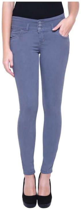 MINARO Women Grey Skinny fit Jeans