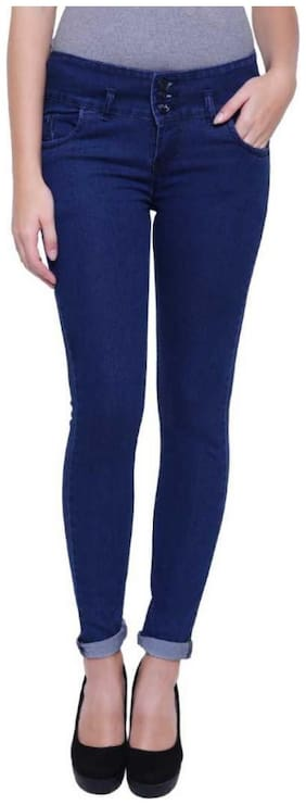 MINARO Women Blue Skinny fit Jeans