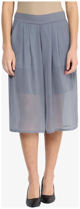 Women Georgette Regular Fit Shorts