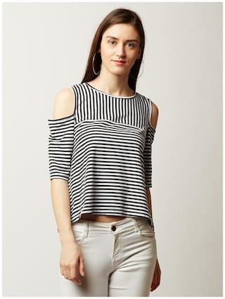 Miss Chase Women Polyester Printed - Regular top Multi