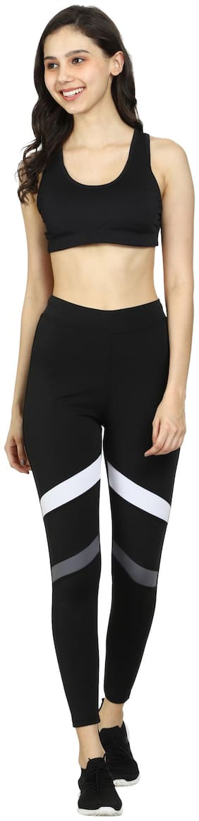 MNM Creation Stretchable Slim Fit Tights//Yoga Pant For Gym, Yoga, Exercise, Walk, Jogging Workout, Sports, Zumba, Aerobics, Fitness, Every day Lower Leggings Tights For Womens || Girls
