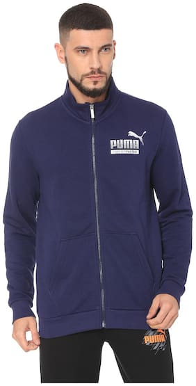 Puma Men Cotton Jacket - Blue