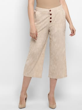 Women Solid Cropped