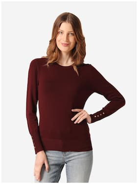 Women Solid Sweater