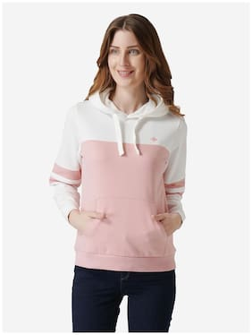 Women Colourblocked Hoodie ,Pack Of 1