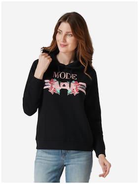 Women Printed Hoodie