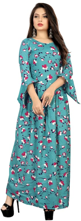MODELTY Multi Floral Maxi dress