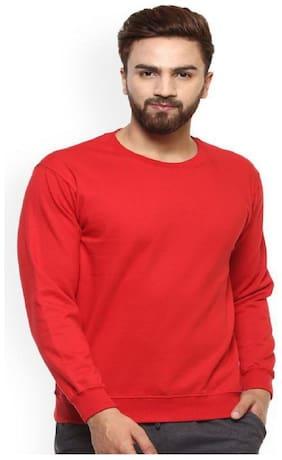 Modestella Men Red Round neck Sweatshirt