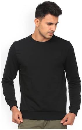 Modestella Men Black Round neck Sweatshirt