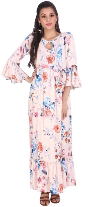 Momtobe Women Maternity Dress - Pink Xxl
