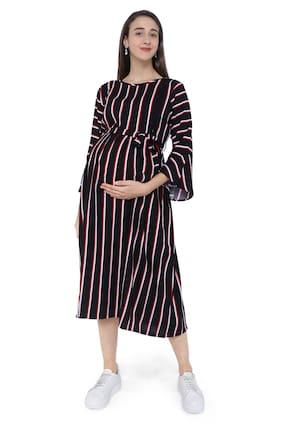 Momtobe Women Maternity Dress - Black Xxl