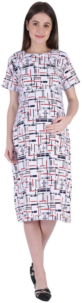 Momtobe Women Maternity Dress - Multicolor Xl