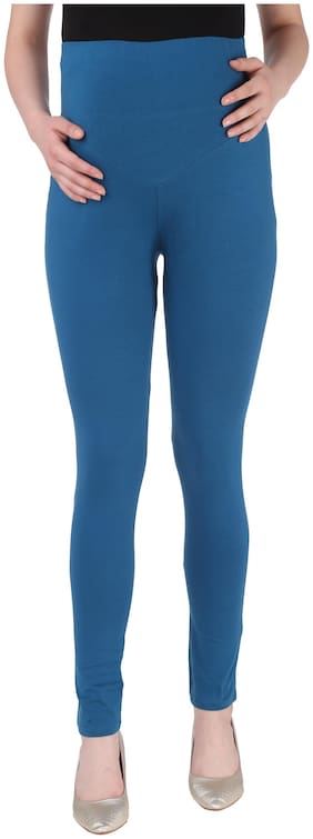 Momtobe Women Maternity Legging - Blue Xl