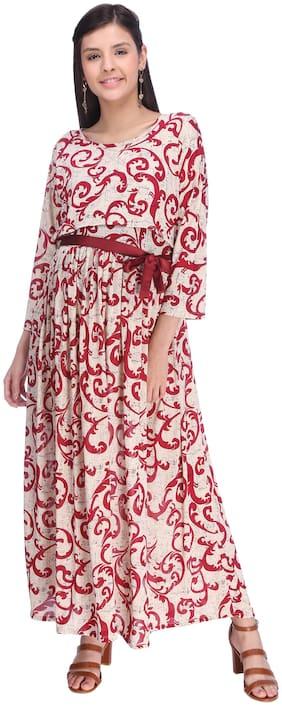 Momtobe Women Maternity Dress - Multicolor L