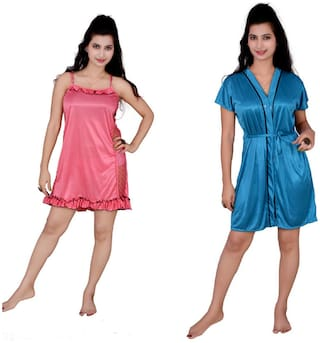 Mona Hot & Sexy Babydoll Nighty Pack Of Two