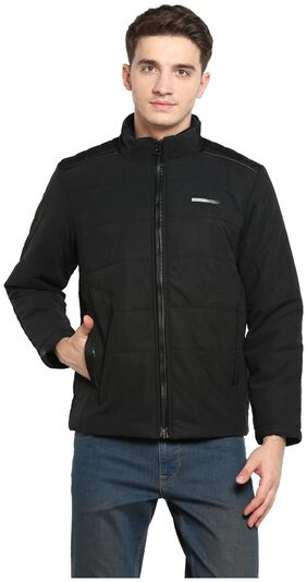 Monte Carlo Men Polyester Jacket - Black