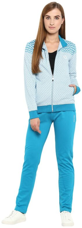 Monte Carlo Grey Solid Cotton Round Neck Tracksuits