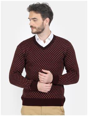 Men Wool Blend Full Sleeves Sweater ,Pack Of Pack Of 1