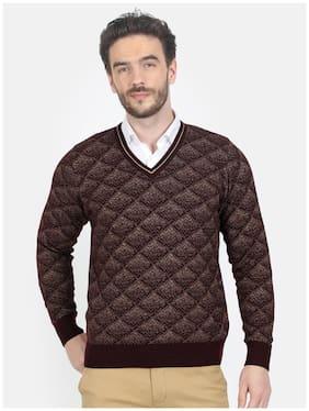 Men Wool Blend Full Sleeves Sweater Pack Of 1