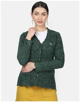 Women Self Design Sweater ,Pack Of 1